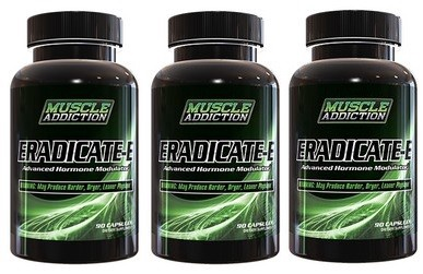 Muscle Addiction Eradicate-E - 3 x 90 Cap Bottles