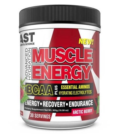 Ast Muscle Energy BCAA/EAA Hydrating Electrolytes  Arctic Berry - 30 Servings