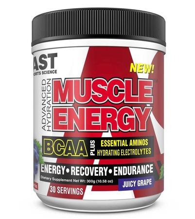 Ast Muscle Energy BCAA/EAA Hydrating Electrolytes  Juicy Grape - 30 Servings