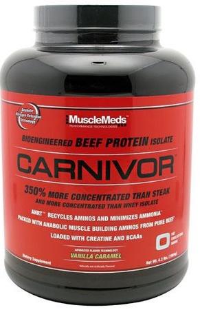 MuscleMeds Carnivor Beef Protein  Vanilla Caramel - 56 Servings