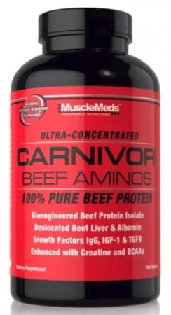 MuscleMeds Carnivor Beef Aminos - 300 Tablets