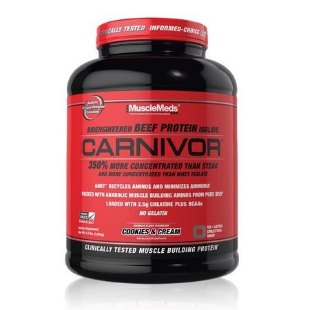 MuscleMeds Carnivor Beef Protein  Cookies & Cream - 56 Servings