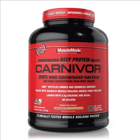 MuscleMeds Carnivor Beef Protein  Chocolate Peanut Butter - 56 Servings