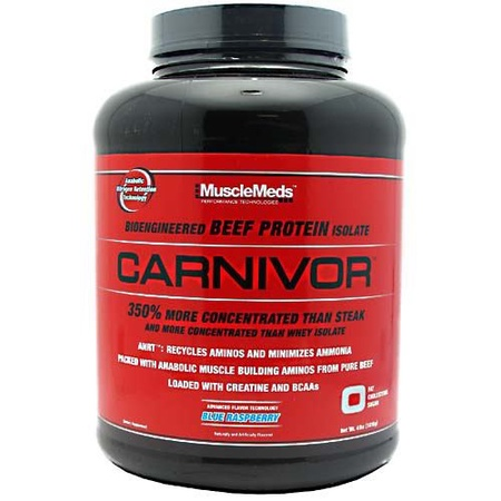 MuscleMeds Carnivor Beef Protein  Fruit Punch - 56 Servings