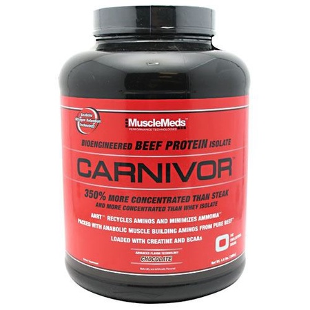 MuscleMeds Carnivor Beef Protein  Chocolate - 56 Servings