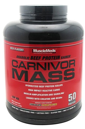 MuscleMeds Carnivor Mass Chocolate PB - 5.6 Lb