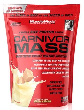 MuscleMeds Carnivor Mass Vanilla Caramel - 10 Lb
