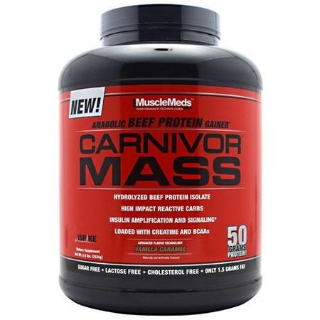MuscleMeds Carnivor Mass Vanilla Caramel - 5.6 Lb