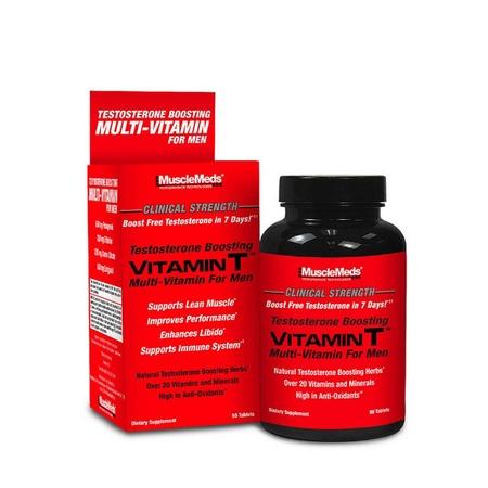 MuscleMeds Vitamin T - 90 Tablets