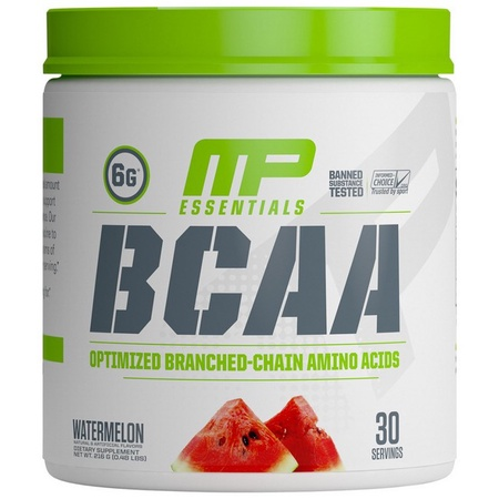 MusclePharm BCAA Essentials Watermelon - 30 Servings (20% Off use code DPS10)