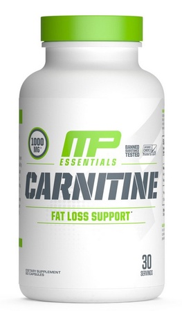 MusclePharm Carnitine - 60 Cap (20% Off use code DPS10)