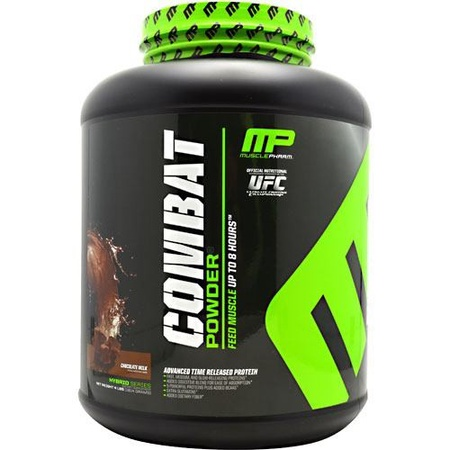 MusclePharm Combat Protein Chocolate - 4 Lb (20% Off use code DPS10)