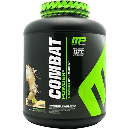 MusclePharm Combat Protein Vanilla - 4 Lb (20% Off use code DPS10)
