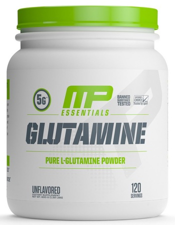 MusclePharm Glutamine - 120 Servings (20% Off use code DPS10)