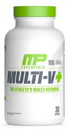 MusclePharm Multi-V+ Multi Vitamin - 60 Tablets  (20% Off use code DPS10)