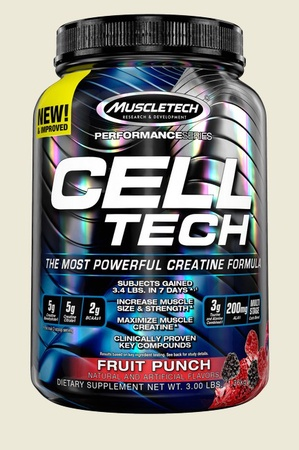 Muscletech Cell Tech Performance Series Fruit Punch - 3 Lb