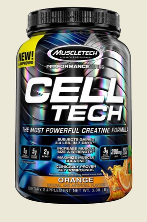 Muscletech Cell Tech Performance Series Orange - 3 Lb