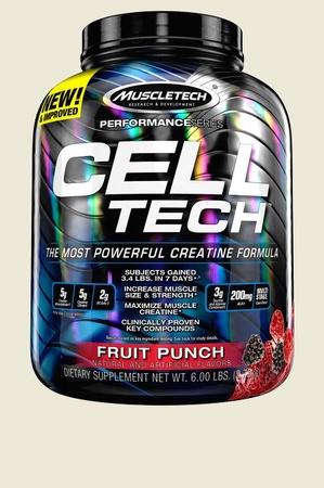 Muscletech Cell Tech Performance Series Fruit Punch - 6 Lb