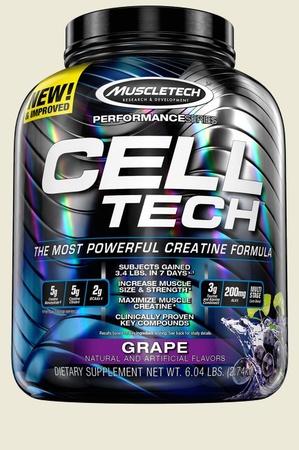 Muscletech Cell Tech Performance Series Grape - 6 Lb