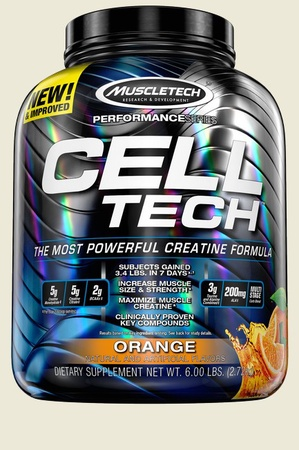 Muscletech Cell Tech Performance Series Orange - 6 Lb