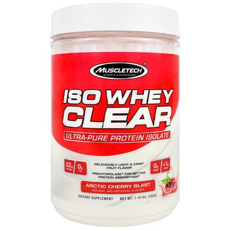 MuscleTech ISO Whey Clear Arctic Cherry Blast - 19 Servings