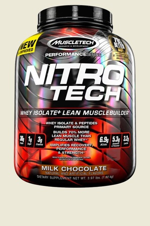Muscletech NitroTech Performance Series Chocolate - 4 Lb (approx. 40 servings)