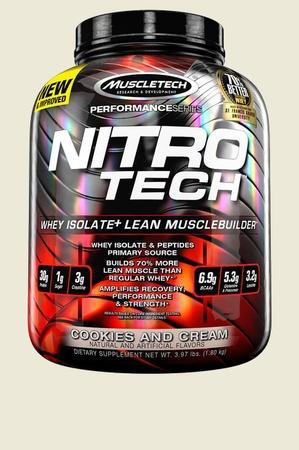 Muscletech NitroTech Performance Series Cookies & Cream - 4 Lb (approx. 40 servings)