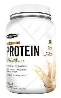 Muscletech Peak Series Protein Vanilla - 2 Lb (Approx 29 servings)
