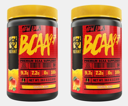 Mutant BCAA 9.7 Topical Mango - 2 x 30 Servings  TWINPACK  (2 for $24.99 w/DPS10 code)