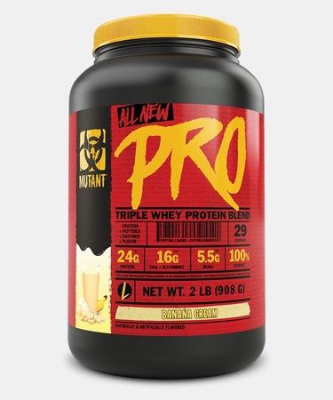 Mutant PRO Triple Whey Protein Blend  Banana Cream Pie - 2 Lb (29 Servings)