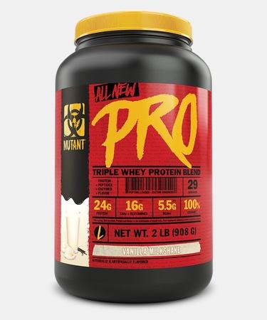 Mutant PRO Triple Whey Protein Blend  Vanilla Milkshake - 2 Lb (29 Servings)