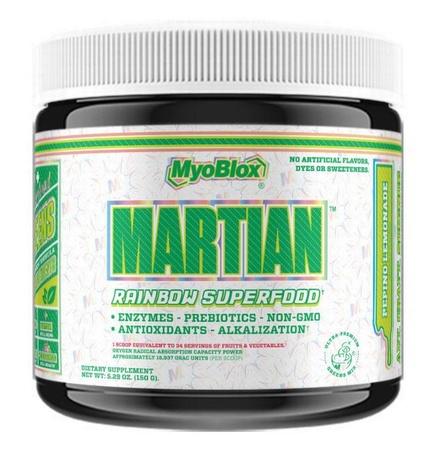 MyoBlox Martian Superfood Greens & Fruit Blend - Pepino Lemonade - 30 Servings
