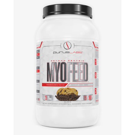 Purus Labs Myofeed Protein  Chocolate Cookie Crunch - 25 Servings