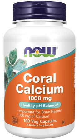 Now Foods Coral Calcium 1000 Mg - 100 VCap