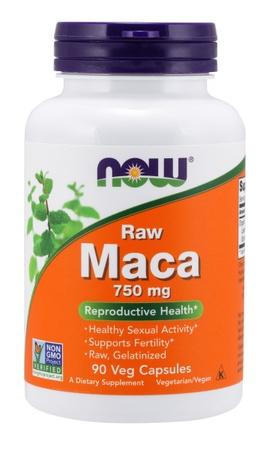 Now Foods Maca Raw 750 Mg - 90 Cap