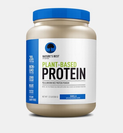 Nature's Best Plant Based Protein Powder Vanilla - 20 Servings