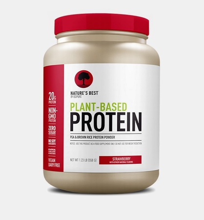 Nature's Best Plant Based Protein Powder Strawberry - 20 Servings