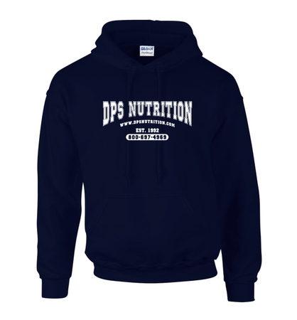 Dps Nutrition Heavy Blend Hoodie  Navy Blue - Large