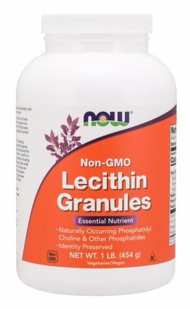 Now Foods Lecithin Granules Non-GMO - 1 Lb