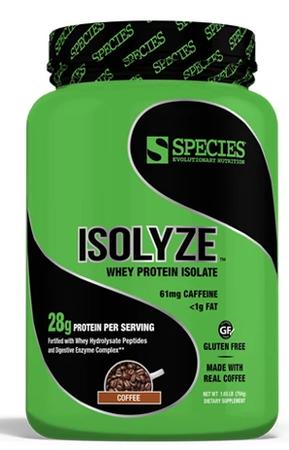 Species Nutrition Isolyze Coffee - 22 Servings