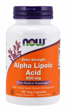 Now Foods Alpha Lipoic Acid 600 Mg - 120 VCaps