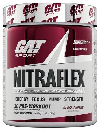 GAT Nitraflex Black Cherry - 30 Servings