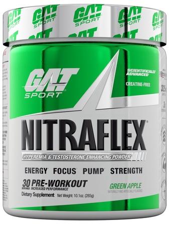 GAT Nitraflex Green Apple - 30 Servings