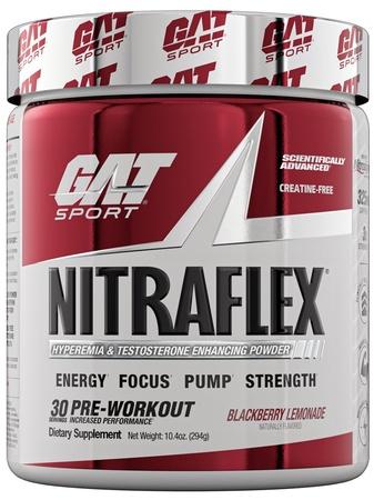 GAT Nitraflex Blackberry Lemonade - 30 Servings