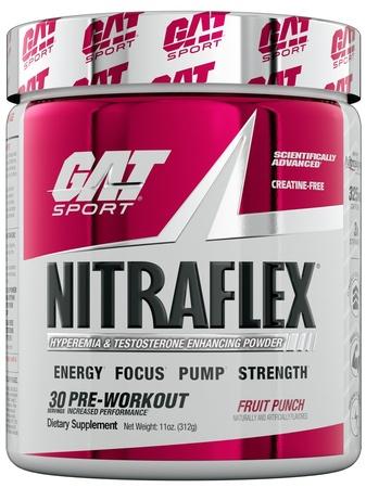 GAT Nitraflex Fruit Punch - 30 Servings