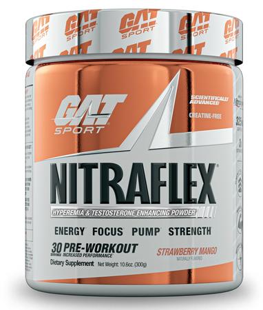GAT Nitraflex Strawberry Mango - 30 Servings