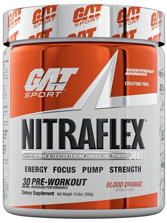 GAT Nitraflex Blood Orange - 30 Servings