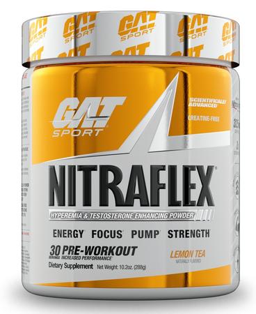 GAT Nitraflex Lemon Tea - 30 Servings