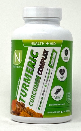 Nutrakey Turmeric Curcumin Complex - 180 Cap