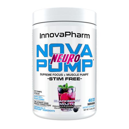 InnovaPharm Nova Pump Neuro  Blackberry Mojito - 40 Servings